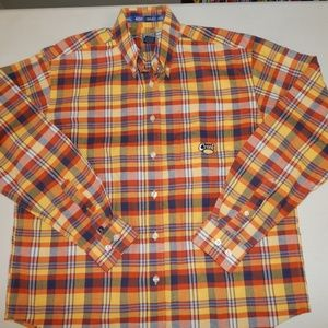 Cruel Girl Size M Long Sleeve Plaid Shirt NWOT